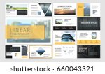 original presentation templates ... | Shutterstock .eps vector #660043321