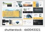 original presentation templates.... | Shutterstock .eps vector #660043321