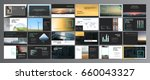 original presentation templates ... | Shutterstock .eps vector #660043327