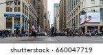new york city  circa 2017 ... | Shutterstock . vector #660047719