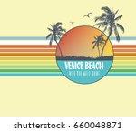surf illustration   t shirt... | Shutterstock .eps vector #660048871