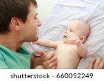indoor portrait of young happy... | Shutterstock . vector #660052249