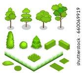 isometric vector trees 3d...   Shutterstock .eps vector #660069919