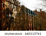 buildings houses apartments | Shutterstock . vector #660113761