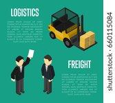 freight transportation... | Shutterstock .eps vector #660115084