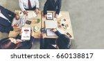 business teamwork trust in...   Shutterstock . vector #660138817