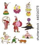cartoon circus icon | Shutterstock .eps vector #66016375