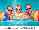 happy family having fun on...   Shutterstock . vector #660169474