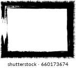 vector frame. rectangle for... | Shutterstock .eps vector #660173674