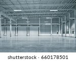 factory building or warehouse... | Shutterstock . vector #660178501