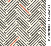abstract striped geometric... | Shutterstock .eps vector #660202495