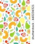 simple pattern illustration  | Shutterstock .eps vector #660236521