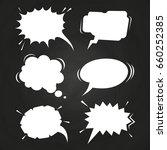 Cartoon Speech Balloons...