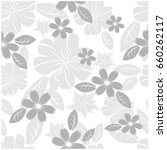 vector seamless pattern flowers ... | Shutterstock .eps vector #660262117