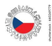vector czech republic school... | Shutterstock .eps vector #660269779