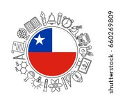 vector chilean school... | Shutterstock .eps vector #660269809