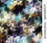 square grunge texture.... | Shutterstock . vector #660288529