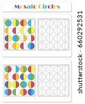 collect the correct sequence of ... | Shutterstock .eps vector #660292531