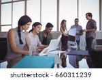 business people working...   Shutterstock . vector #660311239