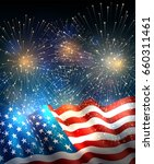 patriotic background with...   Shutterstock .eps vector #660311461