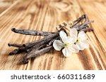 Dried Vanilla Sticks And...