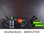 concept preparing to fitness... | Shutterstock . vector #660313765