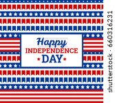 independence day in usa  july... | Shutterstock .eps vector #660316231