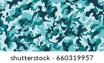 camouflage background. seamless ... | Shutterstock .eps vector #660319957