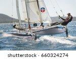 punta ala   3 june  athlete... | Shutterstock . vector #660324274
