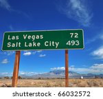 funny contrast of cities on a... | Shutterstock . vector #66032572