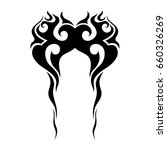 tattoo tribal vector designs. | Shutterstock .eps vector #660326269