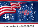 fourth of july independence day.... | Shutterstock .eps vector #660328654