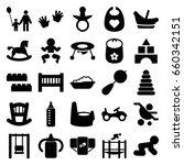 Childhood Icons Set. Set Of 25...