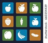 ripe icons set. set of 9 ripe...   Shutterstock .eps vector #660354439