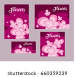 vector abstract background with ... | Shutterstock .eps vector #660359239