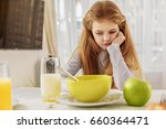 i do not want to eat this.... | Shutterstock . vector #660364471