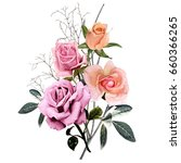 illustration of beautiful... | Shutterstock . vector #660366265