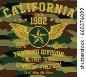 california military team ... | Shutterstock .eps vector #660376099