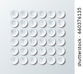 simple white 3d circle paper of ...
