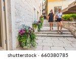 sibenik  croatia may 26 2017 ...   Shutterstock . vector #660380785