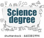 science concept  painted blue... | Shutterstock . vector #660381994