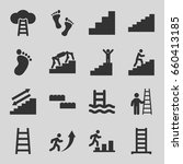 step icons set. set of 16 step...   Shutterstock .eps vector #660413185