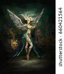 Fantasy Character Girl Magicia...