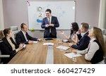 business people partners... | Shutterstock . vector #660427429