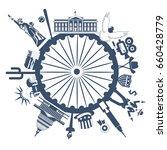 Image Of The Stylized Symbols...