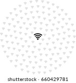 wi fi icons vector. wireless...   Shutterstock .eps vector #660429781
