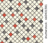 seamless mosaic background on... | Shutterstock .eps vector #660431581
