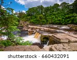richmond falls at low water  ... | Shutterstock . vector #660432091