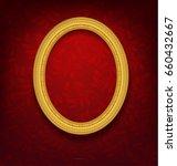 Oval Vintage Gold Picture Fram...