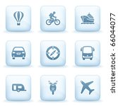 icons blue series 20 | Shutterstock .eps vector #66044077